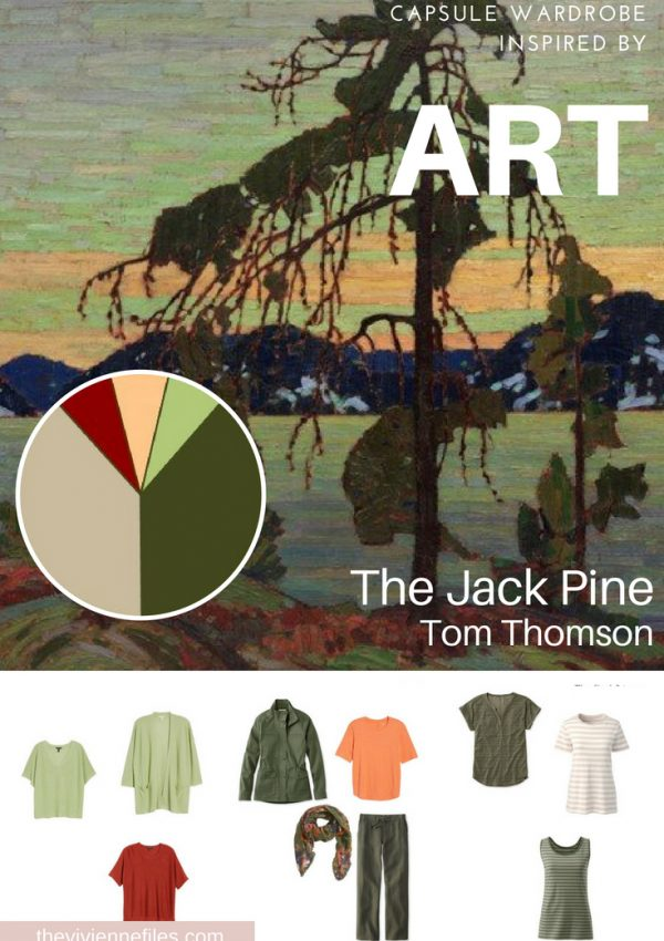 Start with Art: Building a Capsule Wardrobe by Revisiting Jack Pine by Tom Thomson