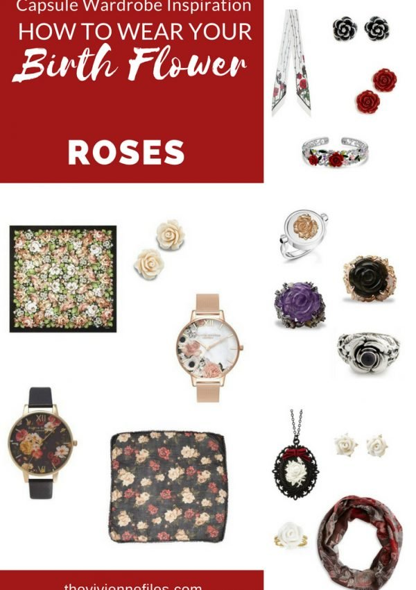 ADD ACCESSORIES TO YOUR WARDROBE WITH ROSES, THE BIRTH FLOWER FOR JUNE!
