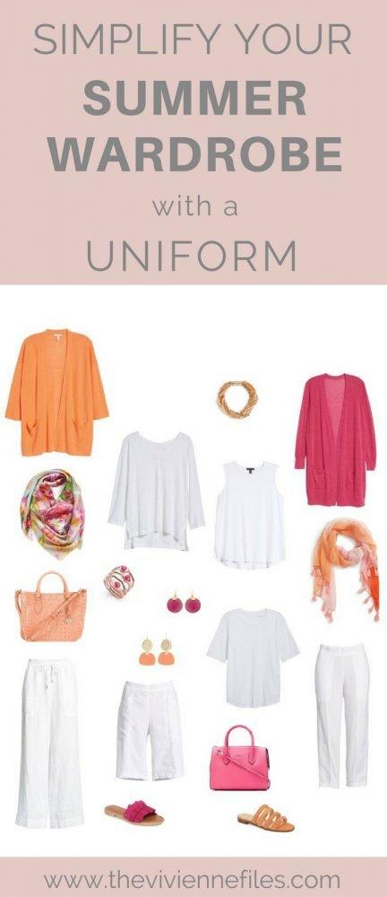 Simplify your summer capsule wardrobe with a uniform