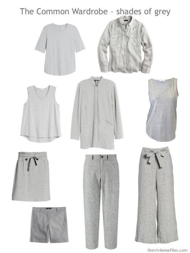 3. A Common Wardrobe in shades of grey