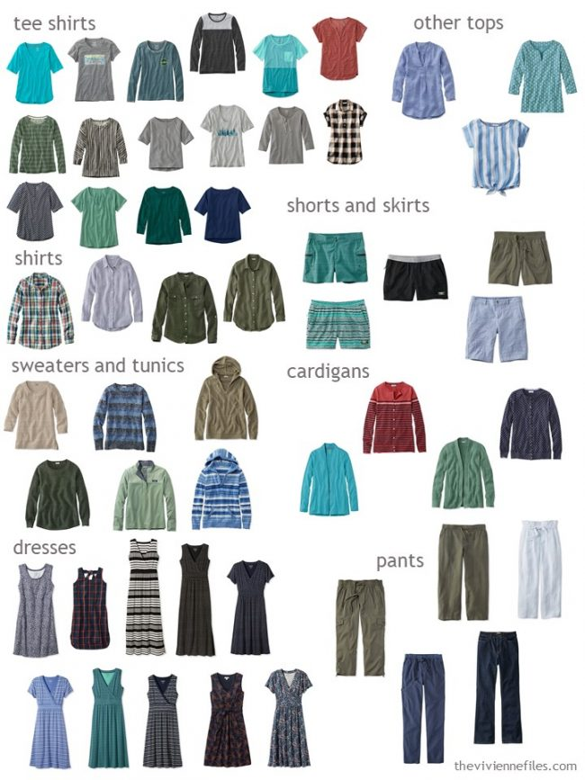 3. wardrobe sorted by function