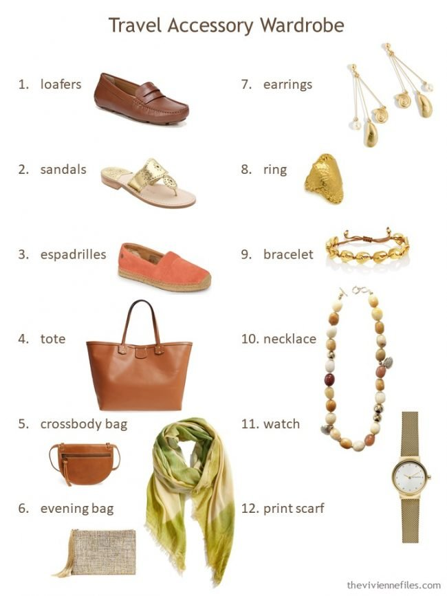 4. An accessory packing list