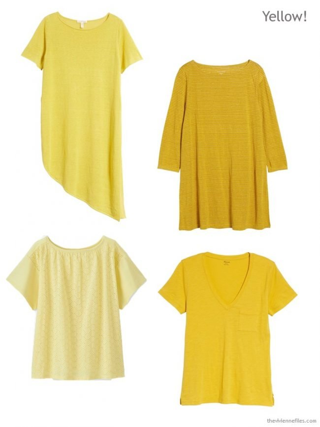 yellow tops