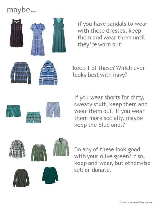 8. what to do with items you can't decide to keep or eliminate