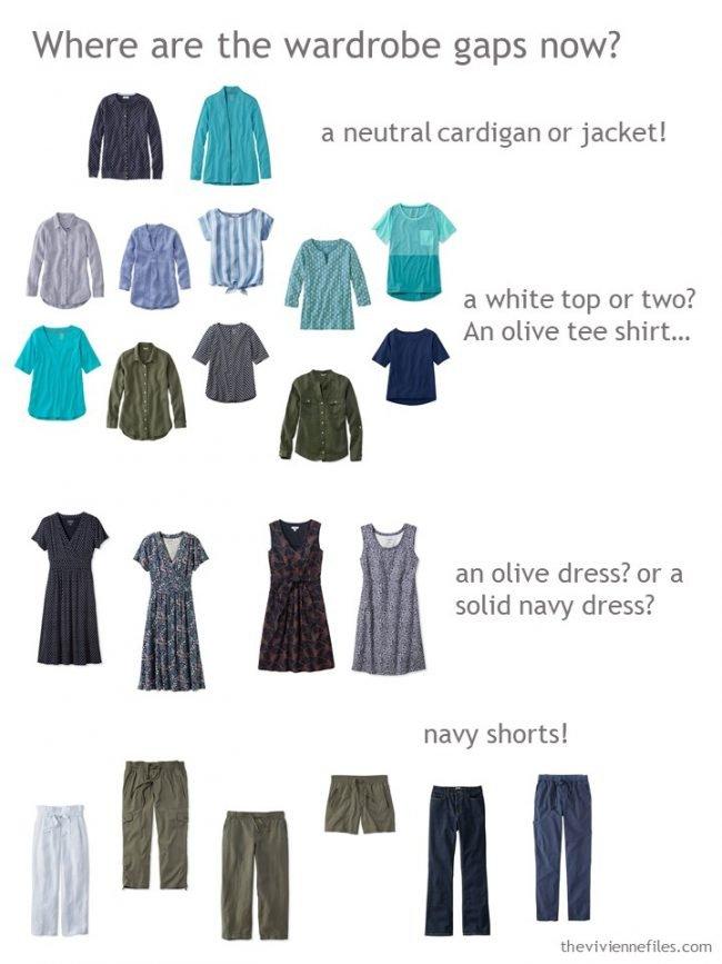 9. identifying wardrobe holes