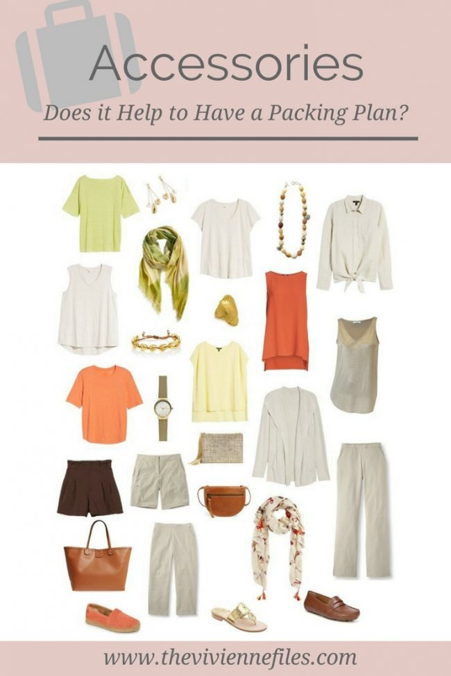 Planning Accessories for a Travel Capsule Wardrobe