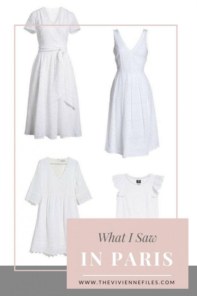 SPRING AND SUMMER WARDROBES IN PARIS