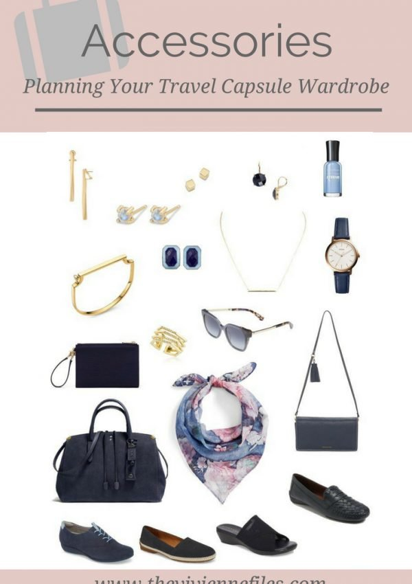 PLANNING YOUR ACCESSORY TRAVEL CAPSULE WARDROBE