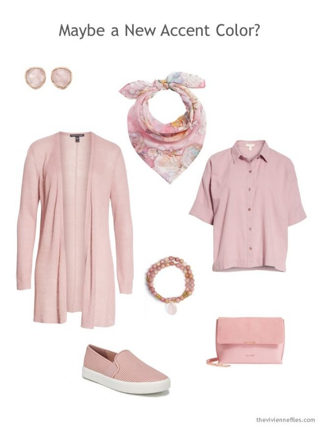 8. a pink quartz accessory capsule