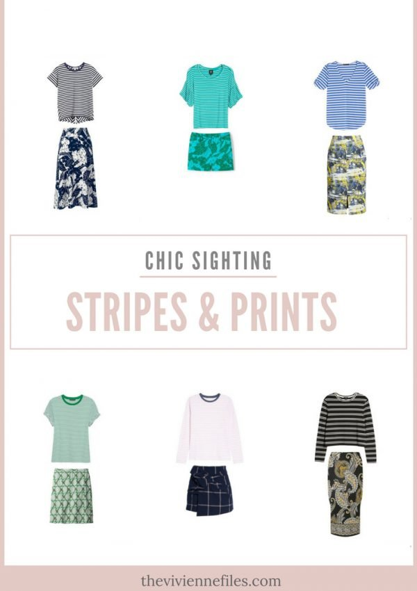 ADDING STRIPES AND PRINTS TO YOUR WARDROBE