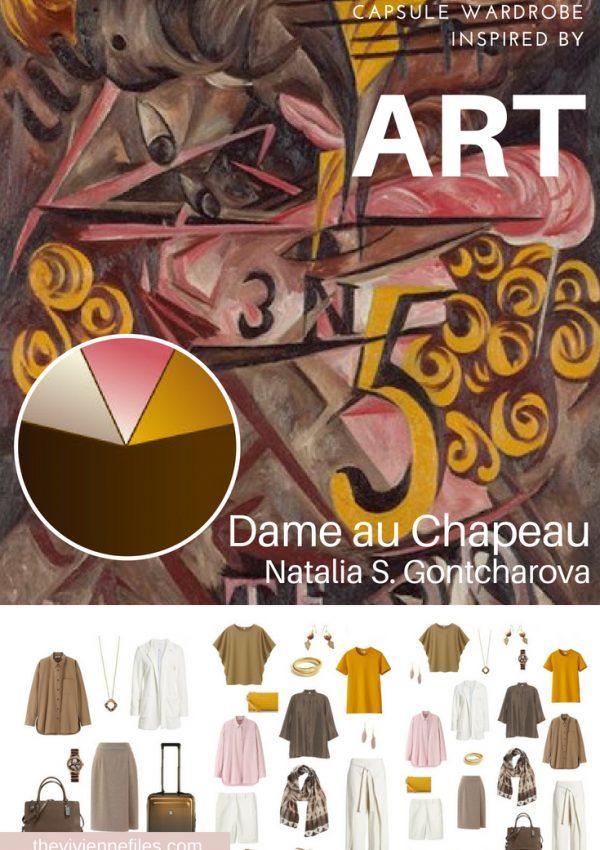 A TRAVEL CAPSULE WARDROBE INSPIRED BY DAME AU CHAPEAU BY NATALIA S GONTCHAROVA