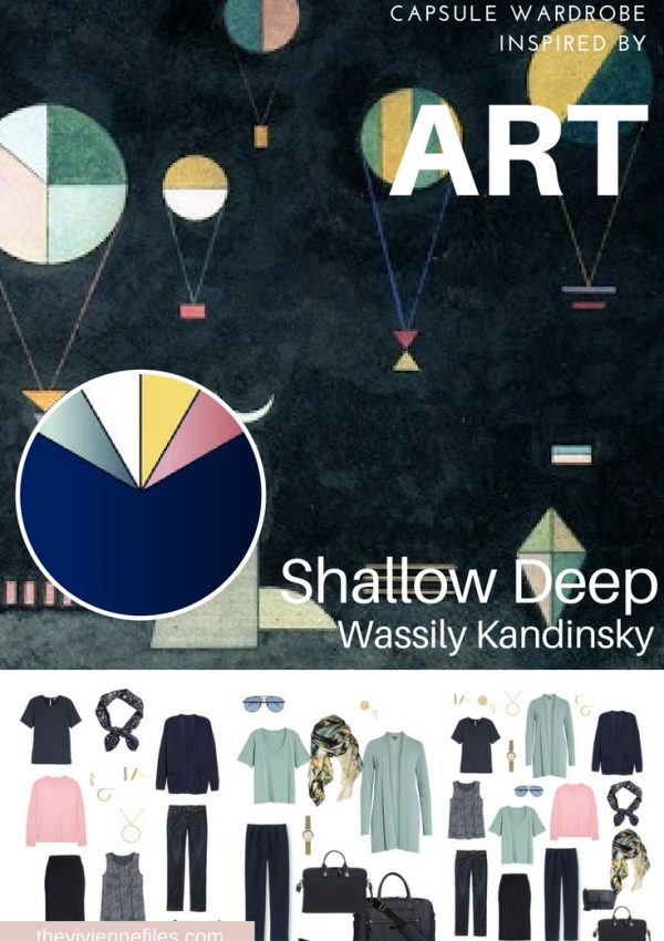 A TRAVEL CAPSULE WARDROBE INSPIRED BY SHALLOW DEEP BY KANDINSKY