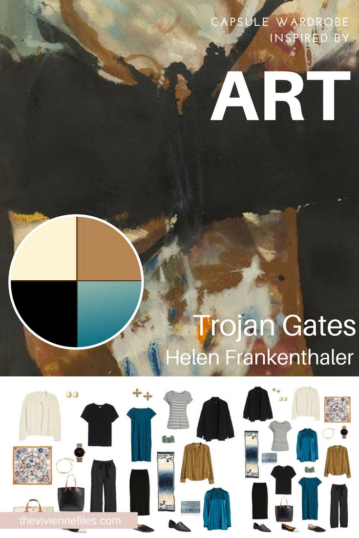 A TRAVEL CAPSULE WARDROBE INSPIRED BY TROJAN GATES BY FRANKENTHALER