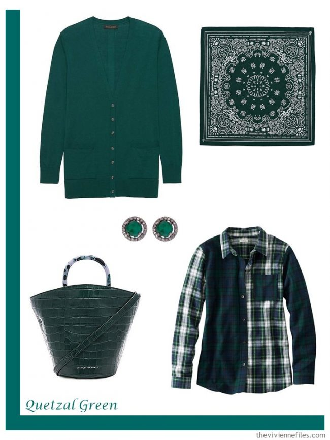 10. Quetzal Green French 5-Piece Wardrobe