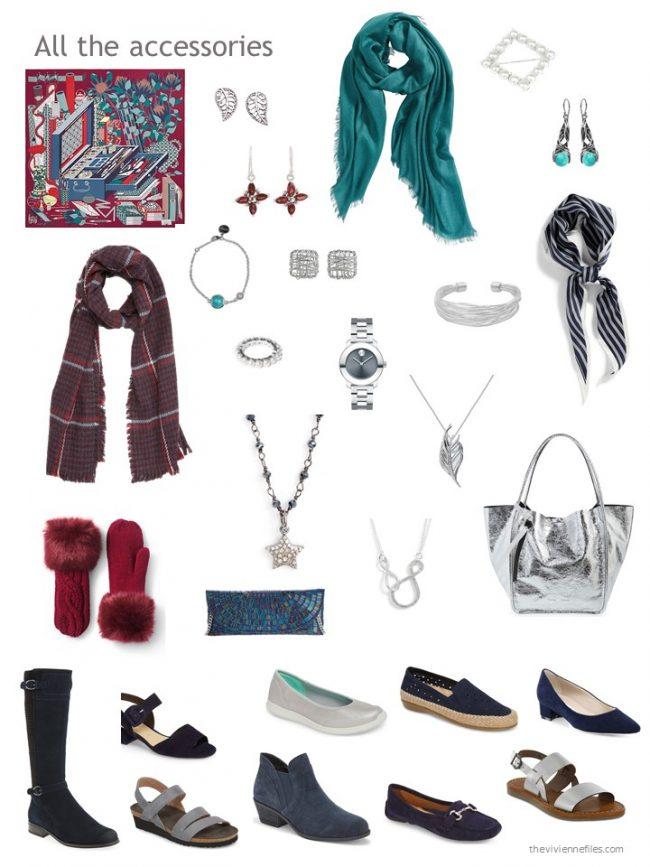 15. accessory wardrobe based on navy