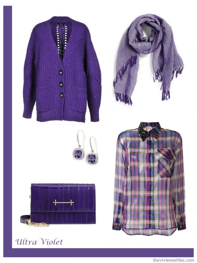 7. Ultra Violet French 5-Piece Wardrobe
