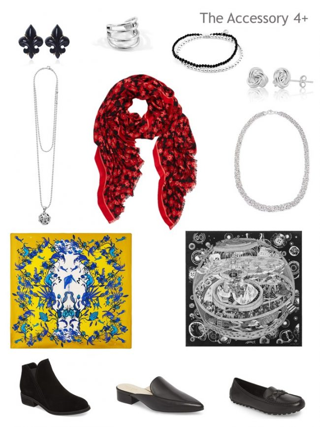 7. accessories for a Project 333 autumn wardrobe