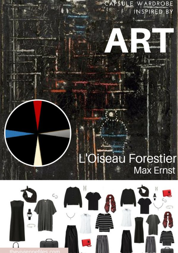 A TRAVEL CAPSULE WARDROBE INSPIRED BY L'OISEAU FORESTIER BY ERNST