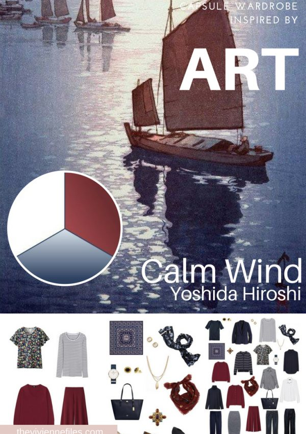 PROJECT 333 FOR BUSINESS TRAVEL INSPIRED BY CALM WIND BY YOSHIDA HIROSHI