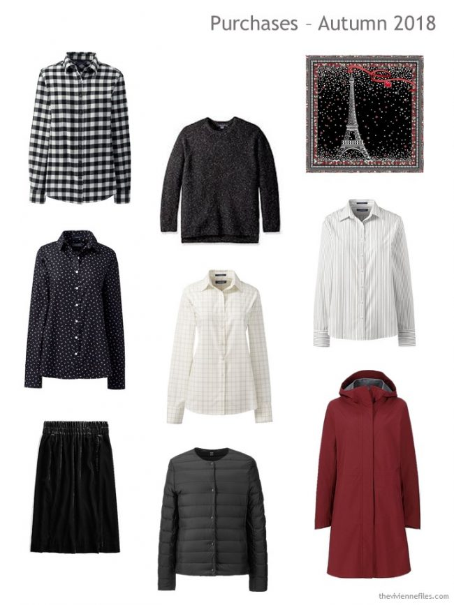 1. Autumn 2018 shopping