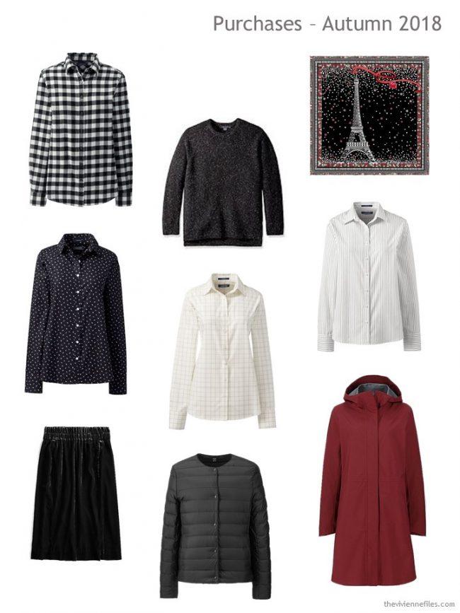 1. Autumn 2018 shopping