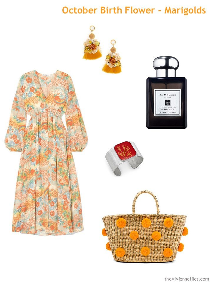 1. Marigold in the fashion world