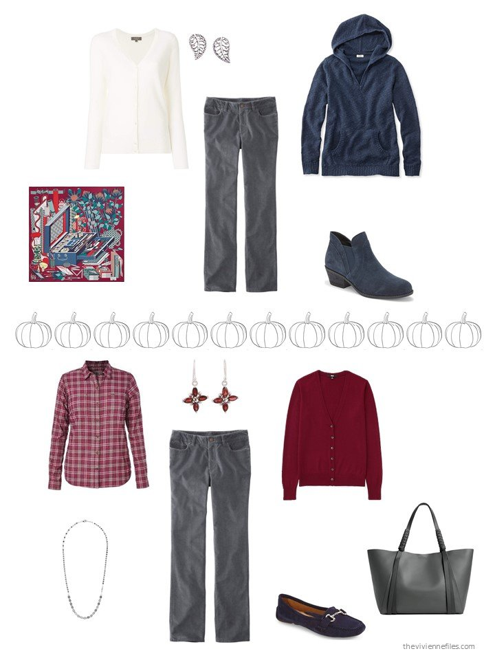 18. 2 ways to wear grey jeans