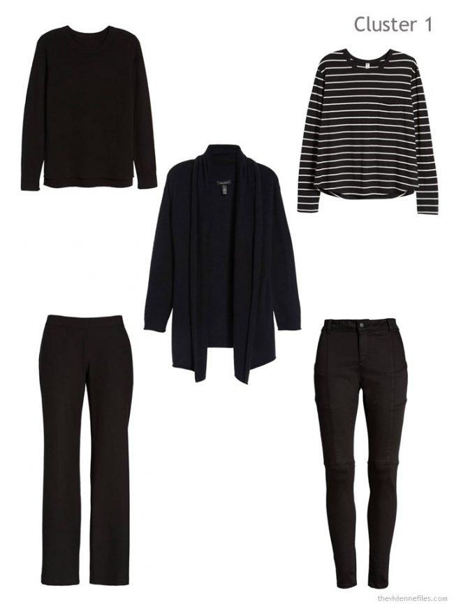 2. First Wardrobe Cluster in black