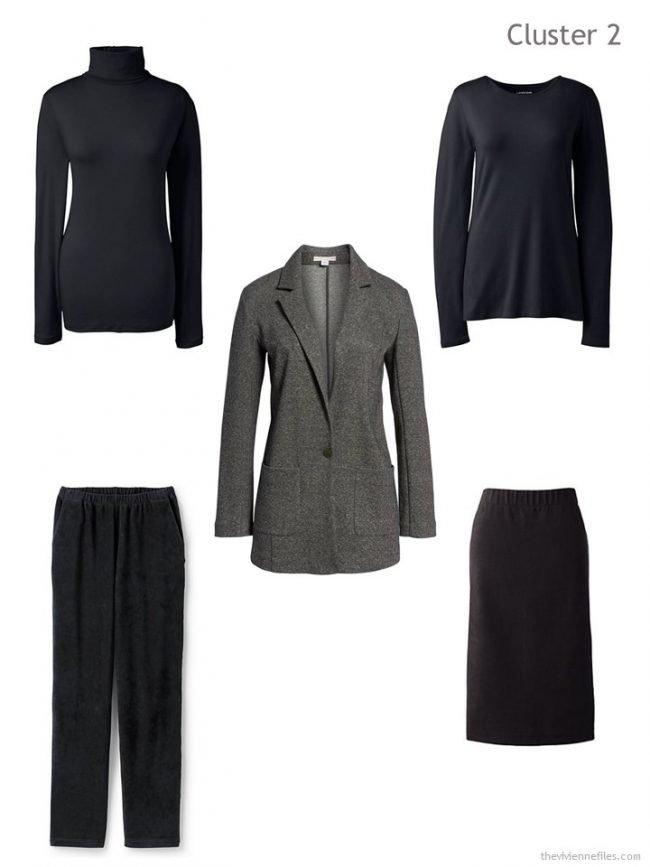 3. 2nd Wardrobe Cluster, based on a tweed blazer