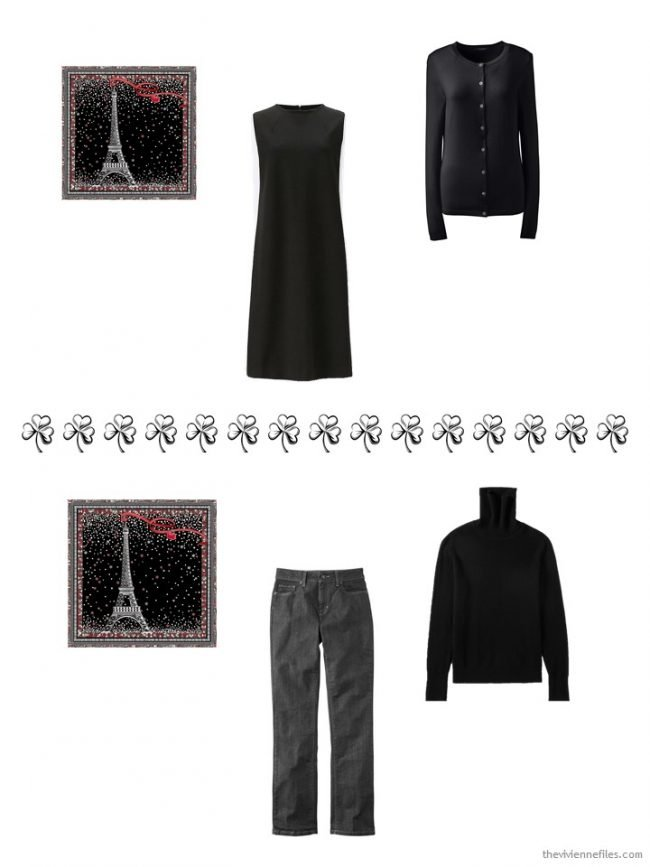 5. 2 ways to wear a Longchamp pocket square