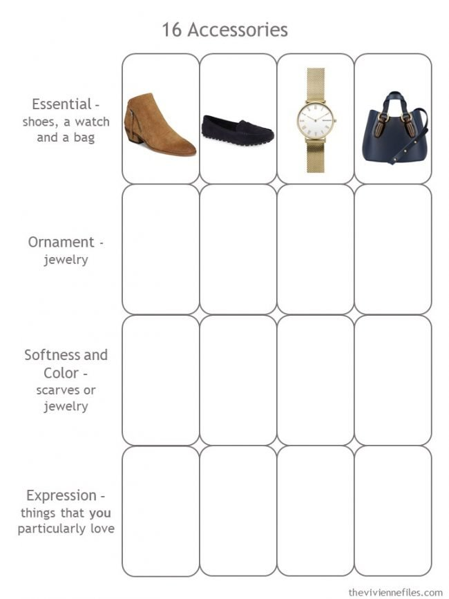 5.Essential Accessories in the accessory 4 by 4 Template