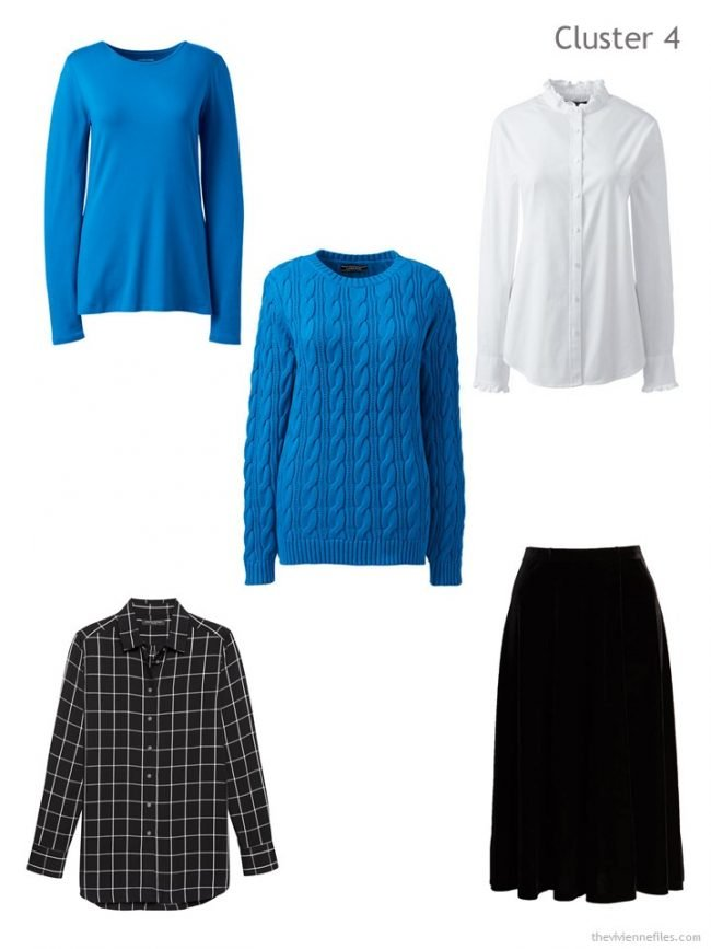 6. 4th Wardrobe Capsule, based on a blue sweater
