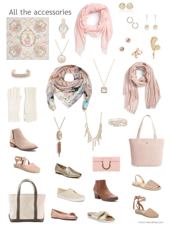 9. accessories for a mostly beige wardrobe