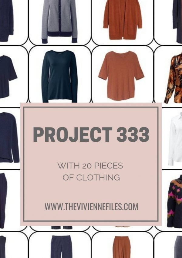 CREATE A CAPSULE WARDROBE WITH PROJECT 333