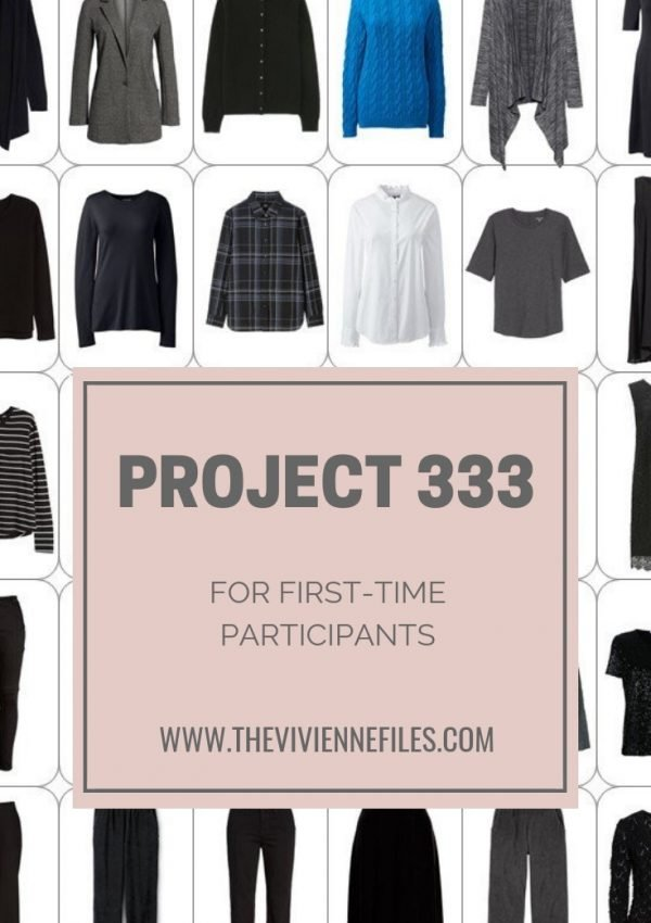 PROJECT 333 FOR FIRST-TIME PARTICIPANTS