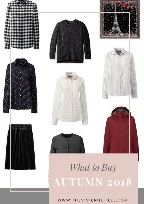 WHAT TO BUY FOR AUTUMN 2018