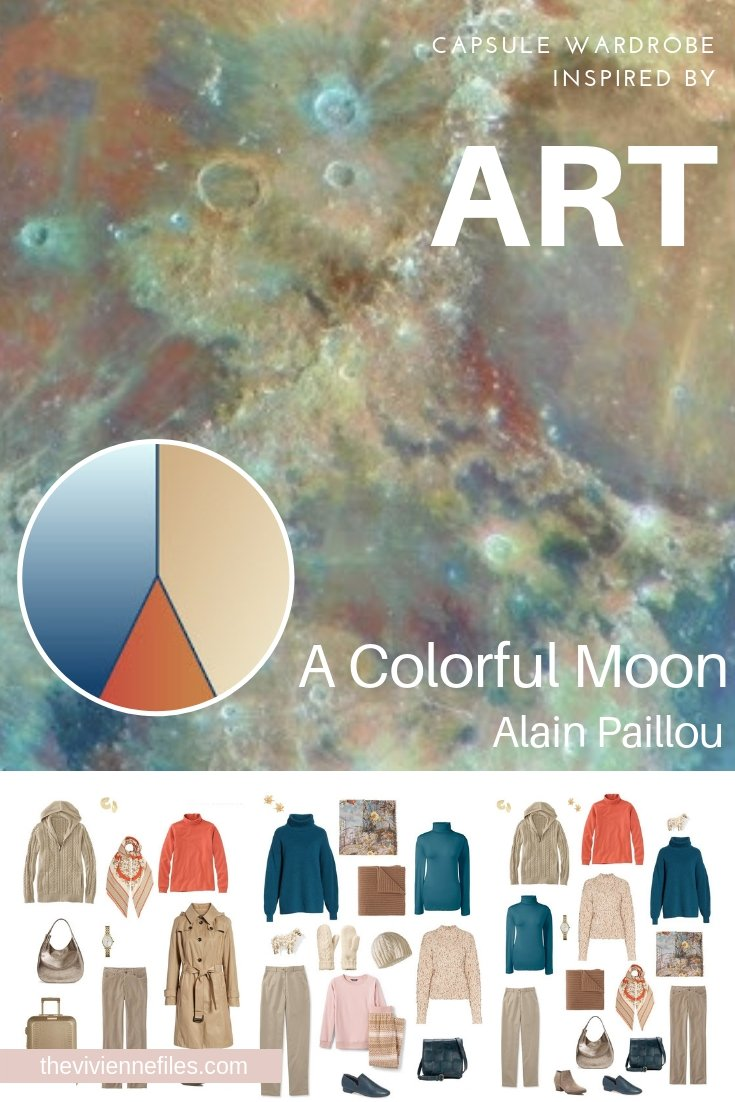 A TRAVEL CAPSULE WARDROBE INSPIRED BY A COLORFUL MOON BY ALAIN PAILLOU, REVISITED FOR AUTUMN 2018
