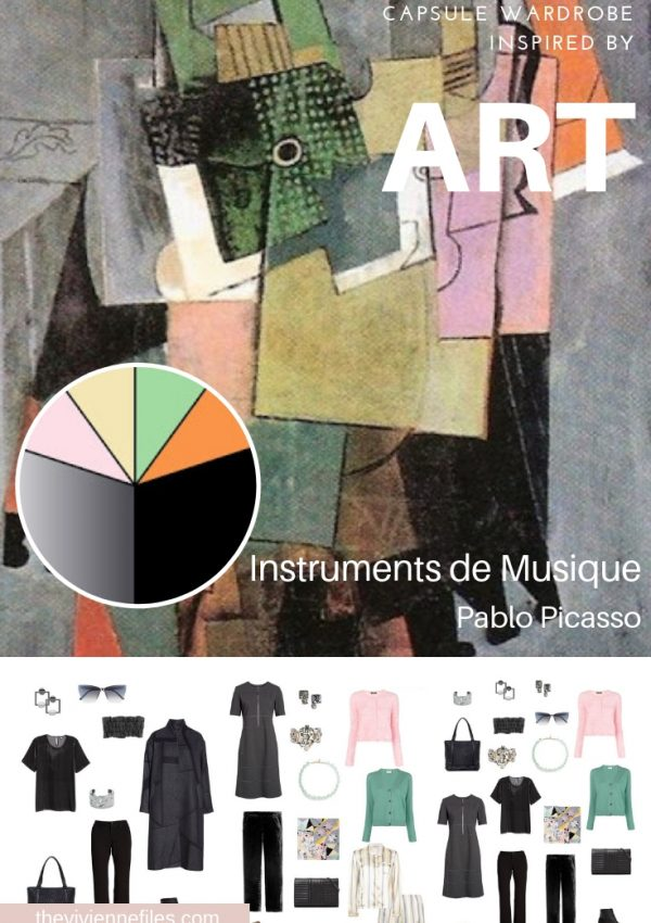 A TRAVEL CAPSULE WARDROBE INSPIRED BY INSTRUMENTS DE MUSIQUE BY PICASSO, REVISITED FOR AUTUMN 2018