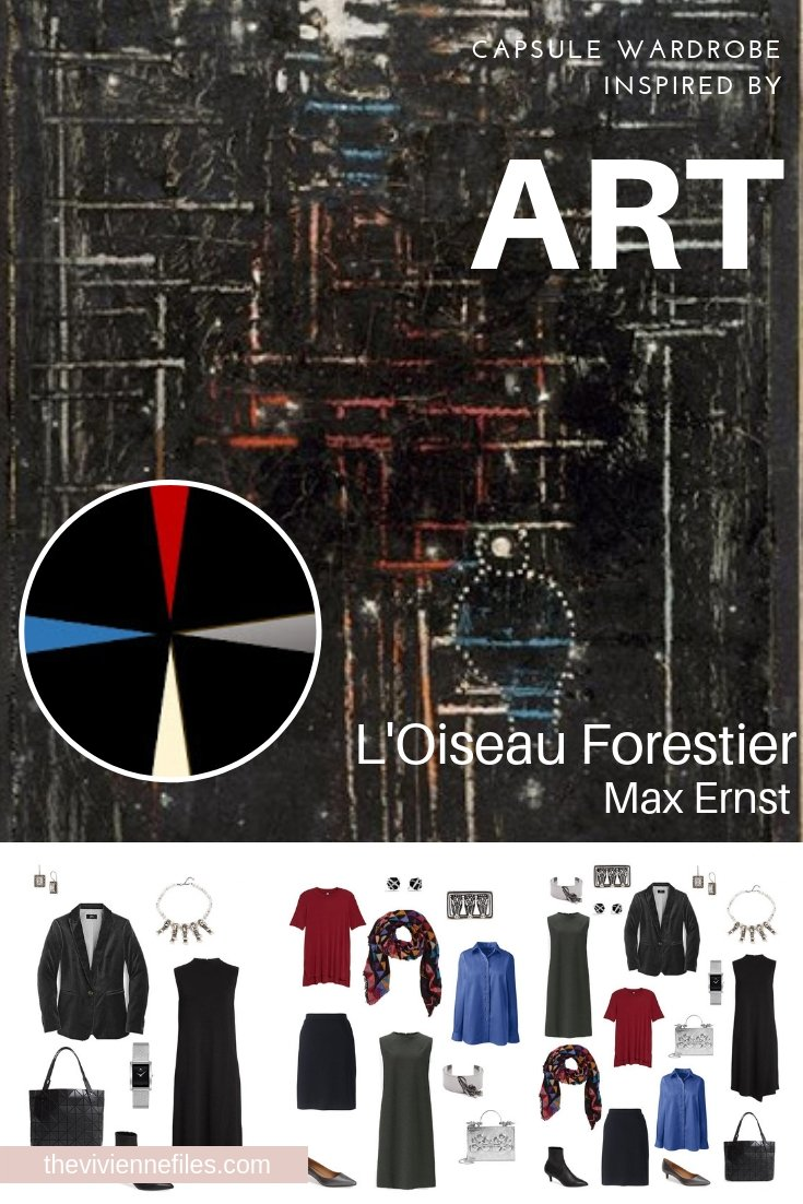 A TRAVEL CAPSULE WARDROBE INSPIRED BY L'OISEAU FORESTIER BY MAX ERNST - AUTUMN 2018