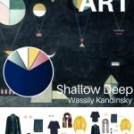 A TRAVEL CAPSULE WARDROBE INSPIRED BY SHALLOW DEEP BY WASSILY KANDINSKY - REVISITED FOR AUTUMN 2018
