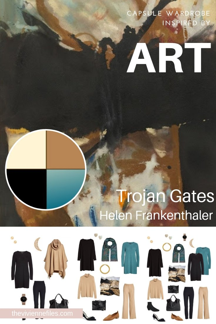A TRAVEL CAPSULE WARDROBE INSPIRED BY TROJAN GATES BY HELEN FRANKENTHALER – AUTUMN 2018