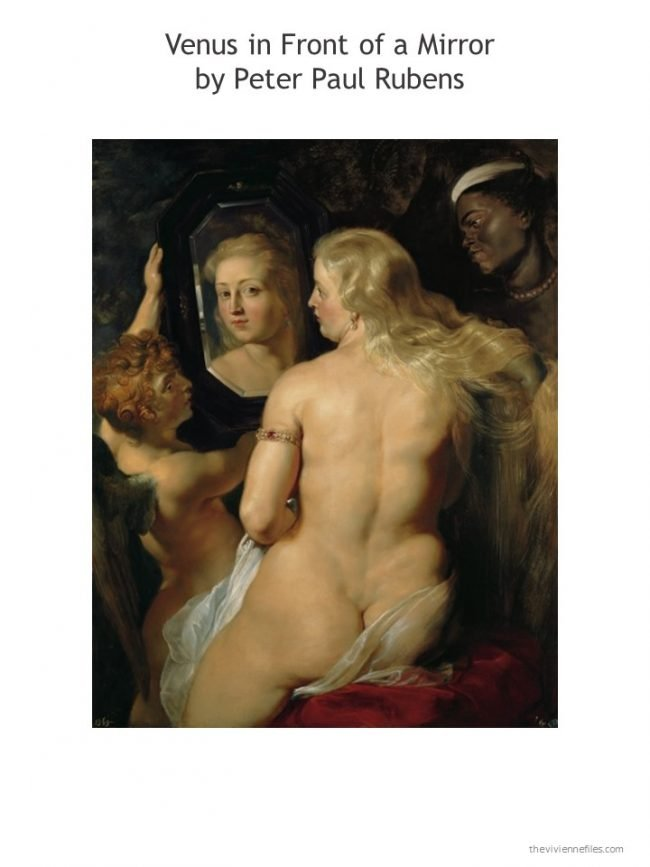 1. Venus in Front of a Mirror by Rubens