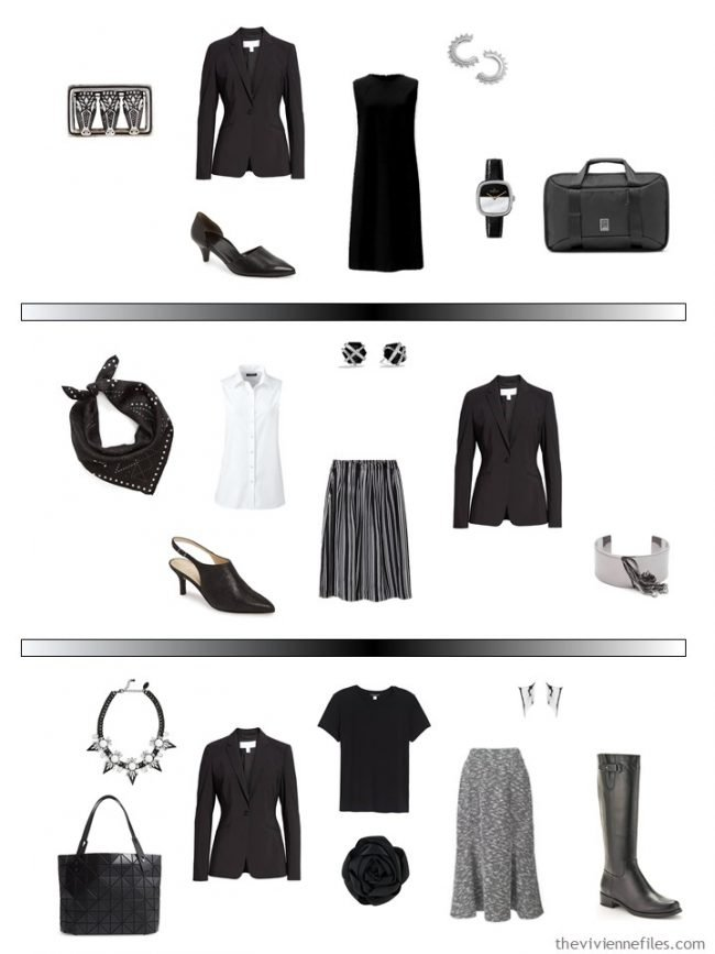 11. 3 ways to wear a black blazer in a capsule wardrobe