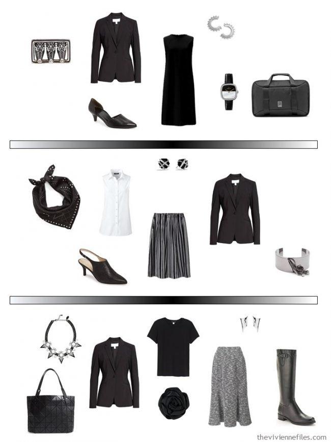 11. 3 ways to wear a black blazer in a capsule wardrobe