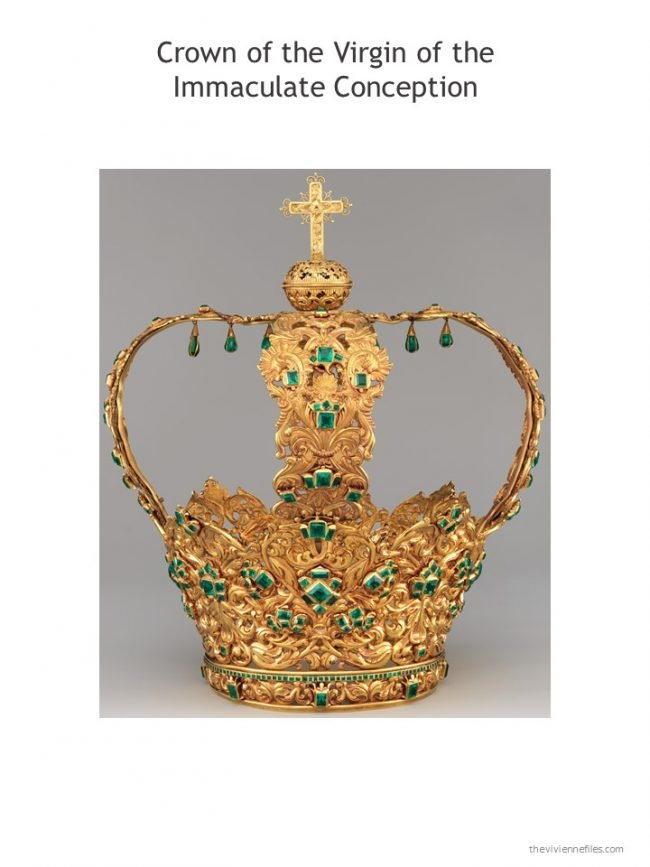 11. Crown of the Virgin of the Immaculate Conception