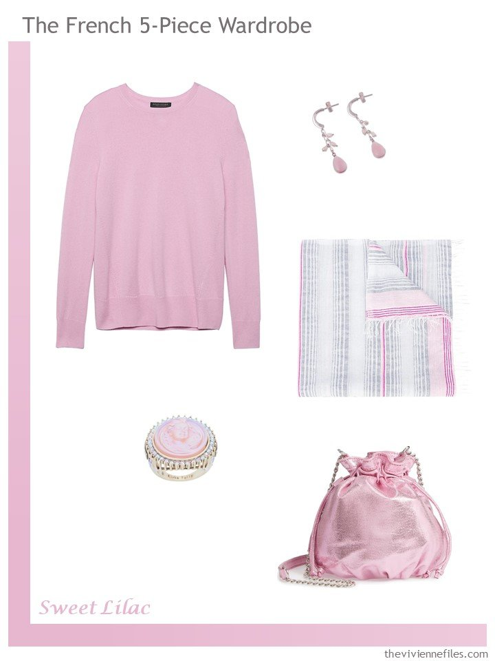 11. Sweet Lilac French 5-Piece Wardrobe