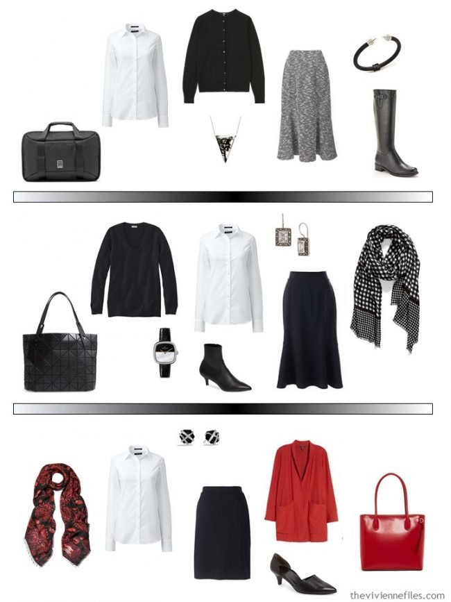 12. 3 ways to wear a white shirt in a capsule wardrobe