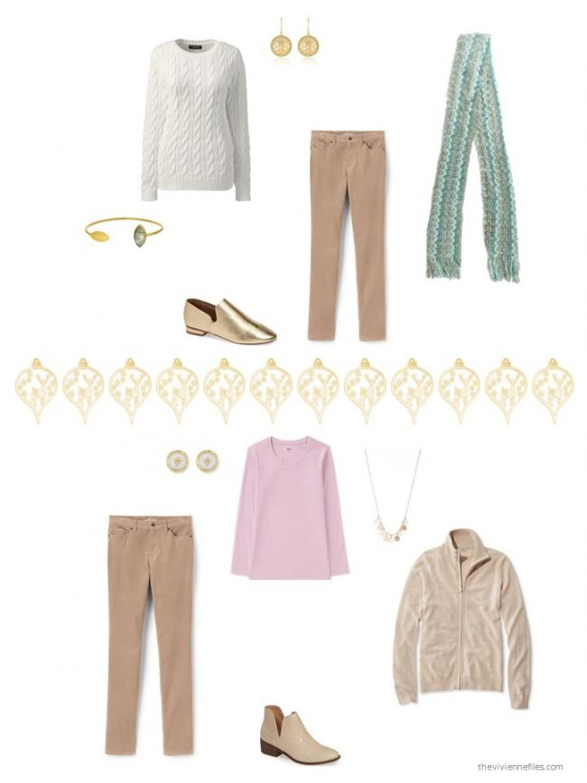 22. 2 ways to wear camel pants from a capsule wardrobe