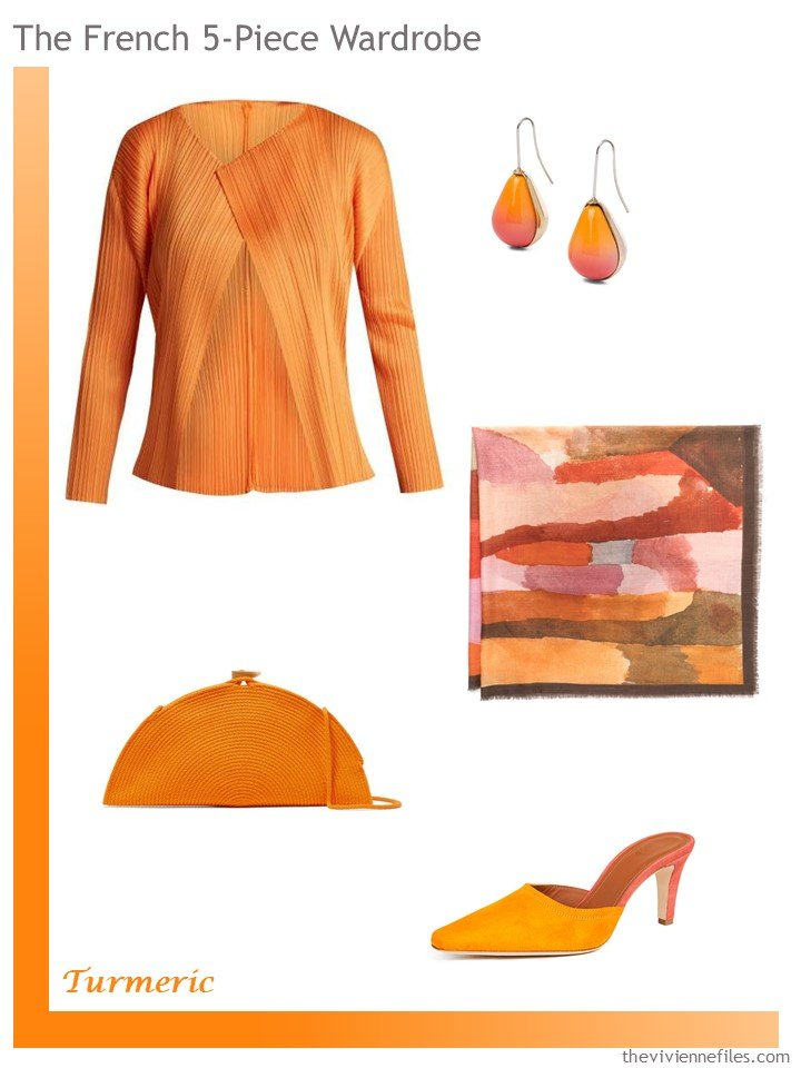 3. Turmeric French 5-Piece Wardrobe