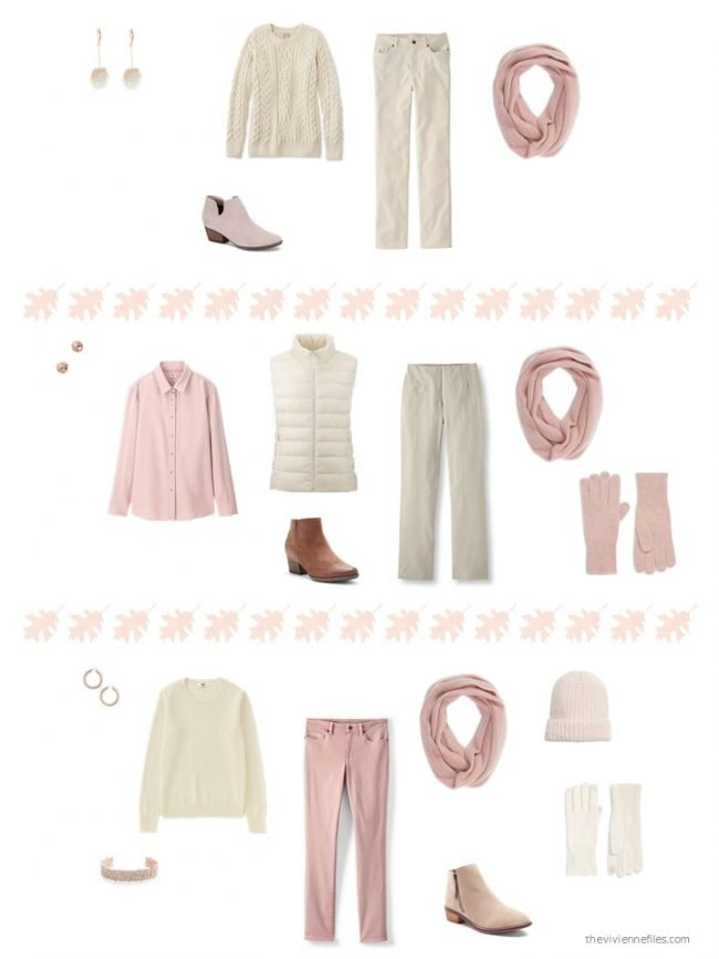 8. 3 ways to wear a pink infinity scarf
